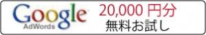 アドワーズ20,000円