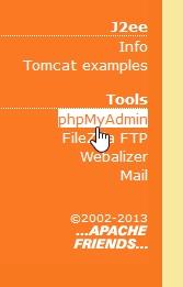 xampp-database
