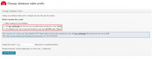 database-prefix